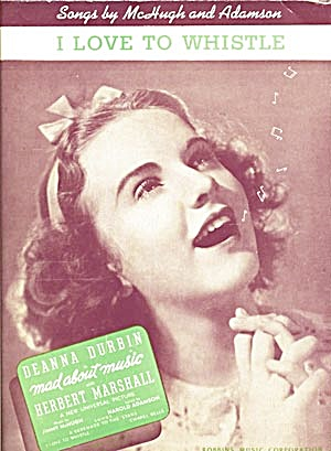 Deanna Durbin I Love To Whistle (Image1)