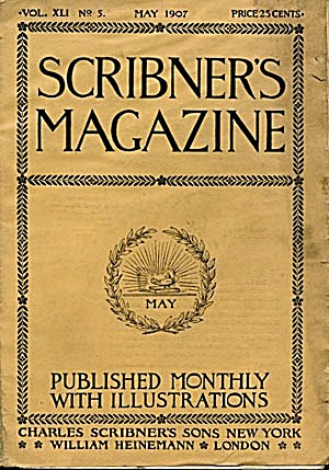 Vintage Scribner's Magazine May 1907