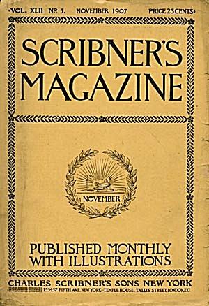 Vintage Scribner's Magazine November  1907 (Image1)