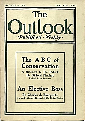 The Outlook: The A B C Conservation:plus More