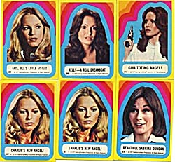 Vintage Charlie's Angels Stickers 6 (Image1)