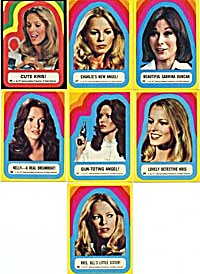 Vintage Charlie's Angels Stickers 7 (Image1)