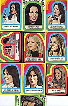 Vintage Charlie's Angels Stickers 10 (Image1)