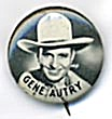 Vintage Celluloid Gene Autry Pinback Button