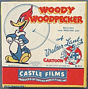 Castle Films Woody Woodpecker Sleep Happy