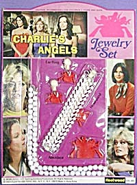 Vintage Charlies Angels Child's Jewelry Set (Image1)