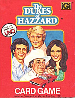 The Dukes Of Hazzard Card Game Rare