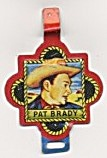 Roy Rogers Tin Litho Western Medal Pat Brady (Image1)