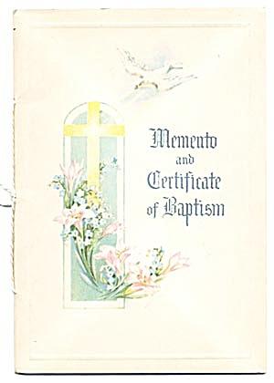 Vintage Baptism Booklet (Image1)