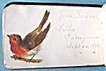 Vintage Velvet Autograph Book (Image1)