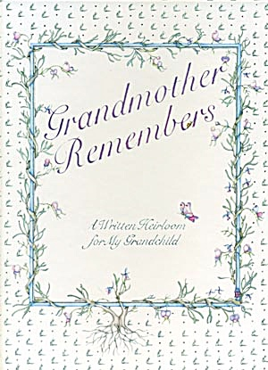 Grandmother Remembers Memory Book (Image1)