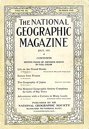 Vintage National Geographic 1921 (Image1)