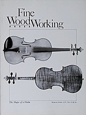 Fine Wood Working: The Shape Of A Violin