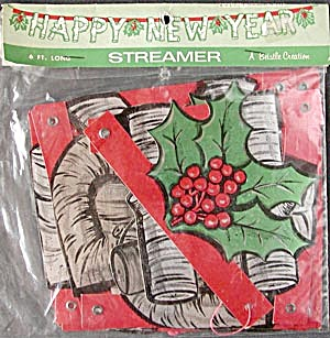 Vintage New Years Eve Streamer (Image1)