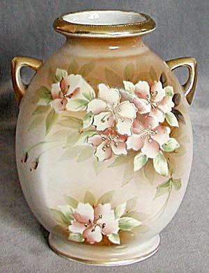 Vintage Double Handled Nippon Vase (Image1)