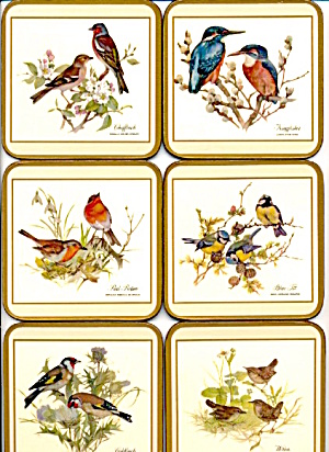 Pimpernel European Birds Made In England