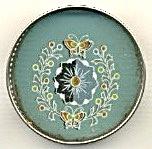 Pierced Metal Glass Coaster Set Of 6 (Image1)