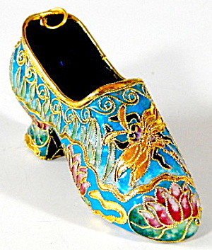 Enamel Shoe Ornament