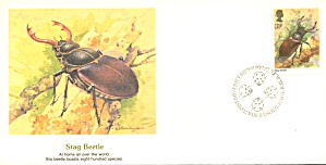 1st Day Covers Bugs Set Of 4