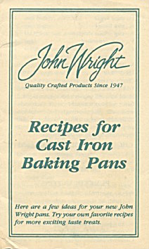 Recipes For Cast Iron Baking Pans