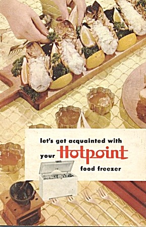Hotpoint Food Freezer Instruction And Recipe Book