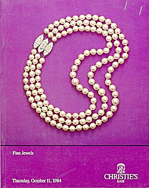 Christie's Auction Catalog of Fine Jewels (Image1)