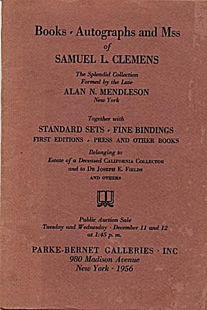 Auction Catalog Of Books (Image1)
