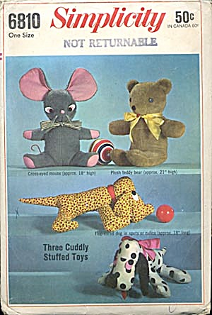 Vintage Simplicity Mouse Pattern (Image1)