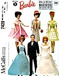 Vintage McCall's Barbie Wedding Pattern (Image1)