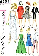 Vintage Simplicity Wardrobe for Medium Doll (Image1)