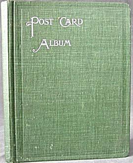 Vintage Green Postcard Album (Image1)