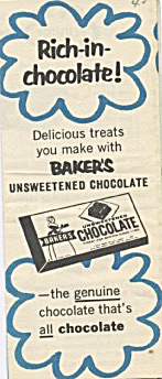 Baker's Unsweet Chocolate