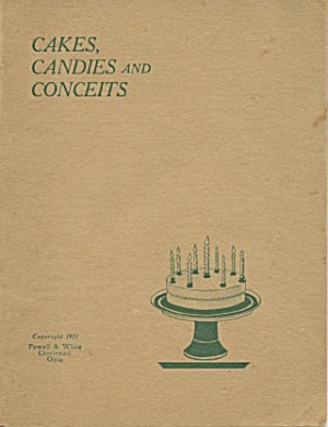 Cakes, Candies And Conceits