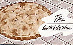 Vintage Pies how to bake them (Image1)