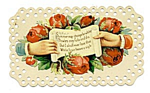 Vintage Calling Card Two-Piece Card (Image1)
