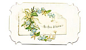 Vintage Calling Card Die Cut Edges (Image1)