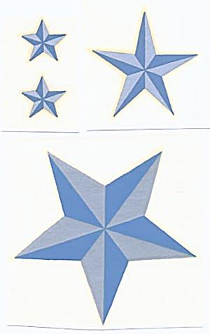 Vintage Meyercord Decals Stars (Image1)