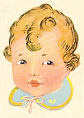 Vintage Meyercord Decal Baby (Image1)