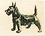 Vintage Meyercord Terrier Decal (Image1)