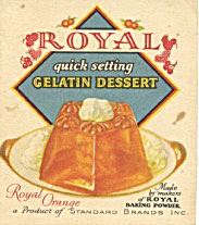 Royal Quick Setting Gelatin Dessert