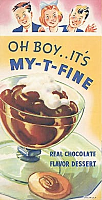 Vintage MY T FINE Chocolate Flavor Dessert Recipes (Image1)
