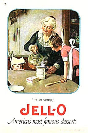 Vintage It's So Simple Jell-O America's Most Famous (Image1)