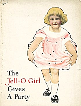 Vintage The Jell-O Girl Gives A Party Recipe Book (Image1)