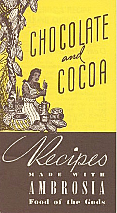 Chocolate & Cocoa Recipes Made With Ambrosia Chocolate