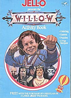 Jell-o presents the Willow Activity Book (Image1)