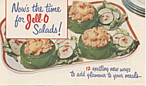 Now's The Time For Jell-o Salads
