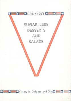 Mrs. Knox's Sugar-less Desserts & Salads