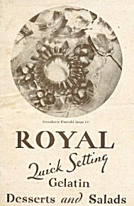 Royal Quick Setting Gelatin Desser