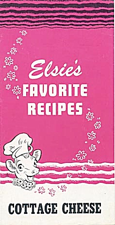 Vintage Elsie's Favorite Recipes Cottage Cheese (Image1)