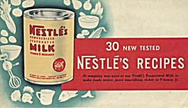 Vintage 30 New Tested Nestles Milk Recipes (Image1)